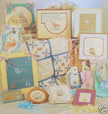"""Nursery Times"" Alma Lynne Designs ALX-55 Counted Cross Stitch Charts New c1986"
