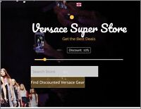 GIANNI VERSACE Website|Upto $146 A SALE|FREE Domain|FREE Hosting|FREE Traffic