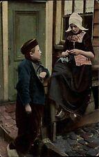 Amsterdam Niederlande Nederland ~1910 Tracht Costume Nuss & Haarlem ungelaufen