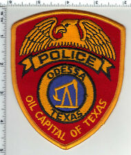 Odessa Police (Texas) 3rd Issue Shoulder Patch