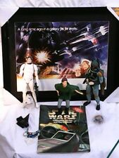 STAR WARS COLLECTION! 3 APPLAUSE FIGURINES, ARTISSIMO PICTURE & BOOK & KEYCHAIN