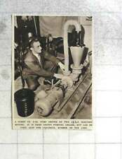 1955 Comet Company Two Inch Pump Pumping Large Amounts Of Grease