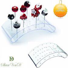 Acrylic Cake Pop Stand Holder Display Cupcake Lollipop Weddings Birthday Parties