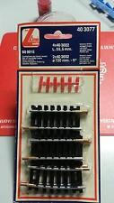 LIMA 4 pz binario dritto 403022+ 2x 403032 d720mm 9° isolati MADE IN ITALY 1970