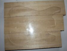 Korina Body blank Tonholz selektiert gleichmäßige Maserung +++ 3 teilig