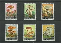 San Marino 1967 Mushrooms MNH