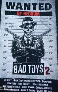 Wanted by Redrum - Bad Toys 2 - Thriller - Neuwertig - A.C.Hurts, S. Trojahn usw