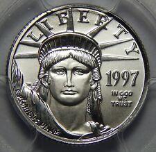 1997 Pcgs Ms69 $10 Statue Of Liberty 1/10oz .9995 Platinum Eagle