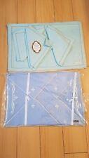 Pure Linen Placemats teal&blue