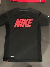 Nike Dri-Fit Black w/ Red T-Shirt in Boys Size M