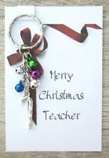 Merry Christmas TEACHER Gift Thank You Xmas School Teachers Teaching Assistant