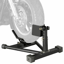 Motorbike Clamp Holder Support Stand Front Wheel Motorcycle Parking Cradle Chock