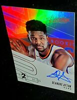 2018-19 Absolute Rookie Autograph DeAndre Ayton On Card Auto RC Gem Mint Auto
