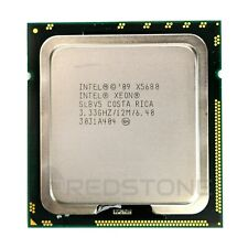 INTEL Xeon X5680 SLBV5 3.33GHz 12MB  6 Core 6.40GT/s 130W CPU Grade A