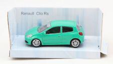 Renault Clio RS maqueta de coche verde 1:43 coche modelo de vehículo