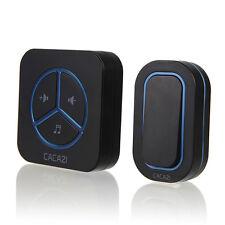 Bouton étanche 220v 48 Tones sans fil Smart Home sonnette Récepteur Bon