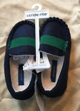 Stride Rite Navy Slippers Size 7-8