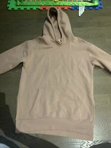 H&m Womens Nude Pink Hoodie Jumper Small