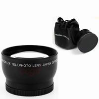58mm 2X Telephoto Lens for Canon 7D II 60D 550D 600D 650D 700D1100D 5D III DSLR