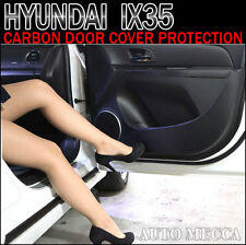 INSIDE CARBON DOOR COVER 4P 1SET PROTECTION FOR 2010-2014 TUCSON (IX)
