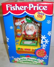 #5340 NRFB Fisher Price CVS Pharmacy 1999 Little People Christmas Eve