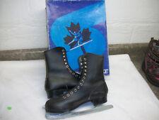 Mens Ice Skates size 6 Sherbrooke black Nice
