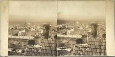 Ruines romaines Algérie Photo Stereo Vintage Citrate