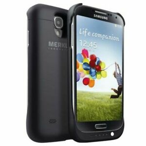 Merkury Innovations Rechargeable External Battery Case for Galaxy S4