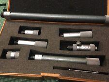Mitutoyo 2 20 Inch Tubular Inside Micrometer Set 137 112