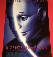 BICENTENNIAL MAN - Double/Sided Original Movie Poster-Robin Williams 1999 NM