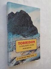 PETER BARTON.TORRIDON A WALKER'S GUIDE.S/B 1991.B/W PHOTOS,ILLS,MAPS