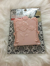 Daiso Cute Elegant Pink Flower Folded Mirror (Anna Sui Like)