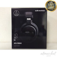 Audio-Technica ATH-PRO5XBK Professional Over-Ear DJ Monitor Headphones, Black