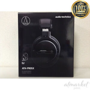 Audio-Technica ATH-PRO5XBK Professional Over-Ear DJ Monitor Headphones, Black