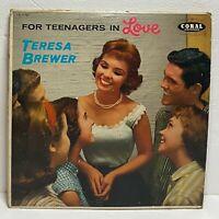 Teresa Brewer – For Teenagers In Love: Coral 1957 LP Vinyl (Pop)