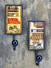 Kleiderhaken Wandhaken Set Gardrobe Vintage Küche Haken Halter Cafe Kaffee Bar