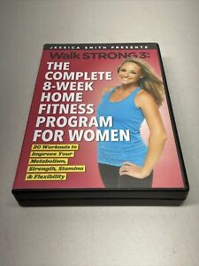 Jessica Smith : Walk Strong 3 Complete 8-Week Home Fitness Program (6-DVD)