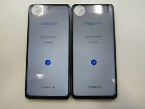 Lot of 2 Google Locked LG K92 5G K920AM Cricket Check IMEI GLC AD-562