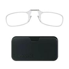 ThinOptics Reading Glasses, Size 1.50 Strength and Black Case