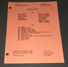 "PETTICOAT JUNCTION ~ ORIG. TV SCRIPT ""BAD DAY AT SHADY REST"" ~ FINAL DRAFT ~ XF!"
