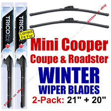 WINTER Wipers 2pk fit 2013-2015 Mini Cooper Coupe & Roadster ONLY 35210/200