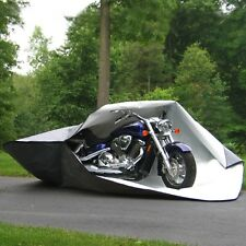 Shelter It Motorcycle Fortress Floor to Top Cover All-Weather PE - Gray