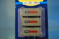 "Athearn 27834 3 x 20' Standard Container ""P&O Nedlloyd"" *ORIGINAL / herpa*"