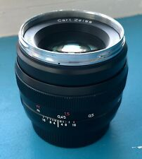 Carl Zeiss Planar T ZE 50mm f/1.4 (For Canon)