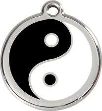 Medaille Chien 3cm Red Dingo Motif Yin-yang