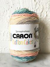 Caron Cotton Cakes Worsted Medium Weight Yarn - 1 Skein Morning Dew #49013