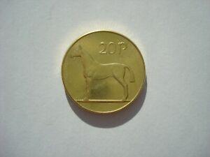 Irish 20 Pence 1985 Twenty Pee Ireland Souvenir