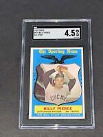 1959 Topps #572 Billy Pierce SGC 4.5 Newly Graded & Labelled PSA BVS