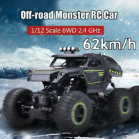 1:12 2.4G 6WD Electric Off-Road Racing Truck High Speed RC Remote Control  CN