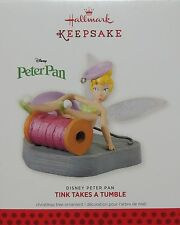 2013 Hallmark Keepsake Ornament Disney Peter Pan TINK TAKES A TUMBLE Tinkerbell